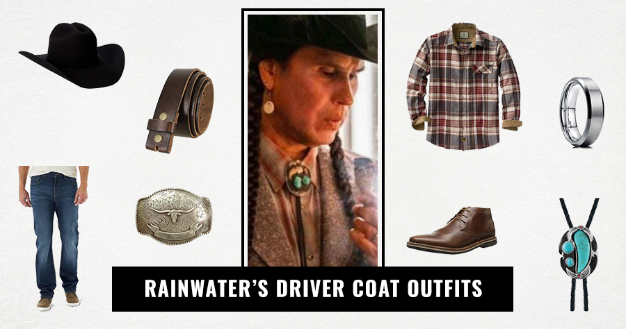 Rainwater's Driver Coat Outfits