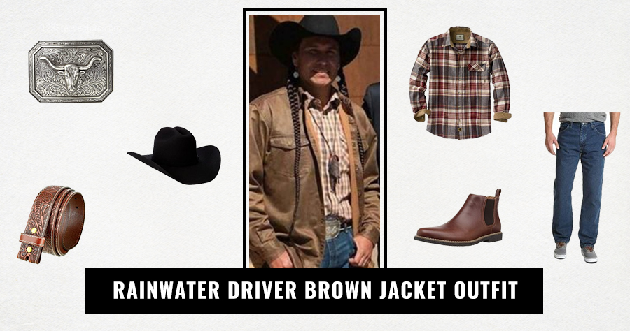 Rainwater Driver Brown Jacket Outfit