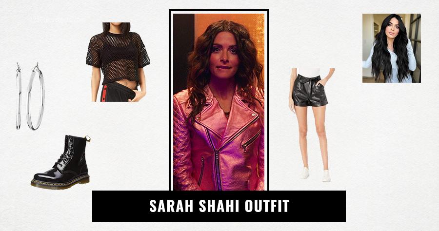 Sarah Shahi Outfit