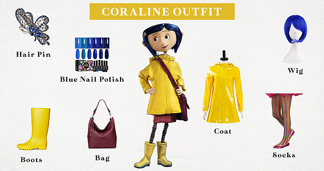 Coraline Outfit