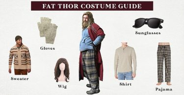 Fat Thor Costume Guide