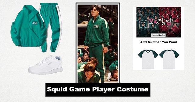 Squid Game Participant Costume