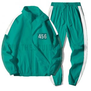 Squid Game Participant Green Tracksuit