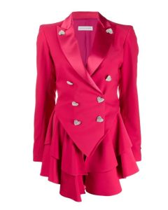 Ted-Lasso-Keeleys-Pink-Heart-Button-Blazer-