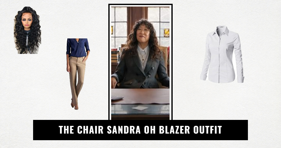The Chair Sandra Oh Blazer Outfit