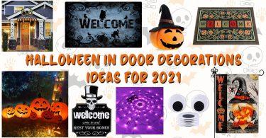 Halloween in Door Decorations Ideas for 2021