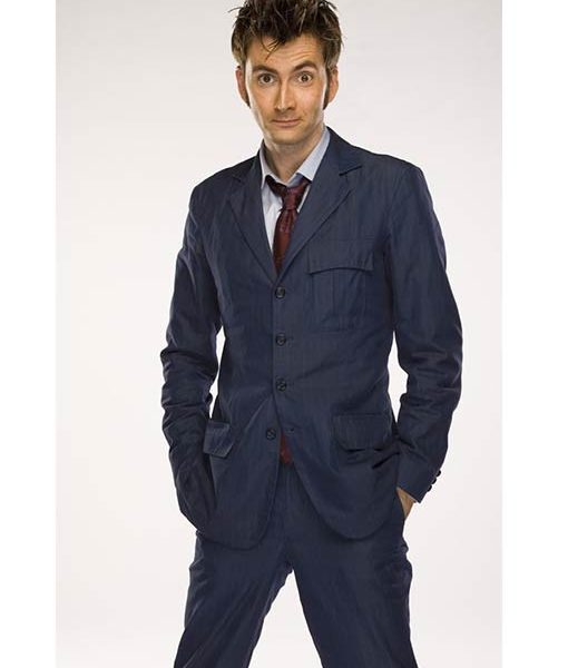 10th Doctor Who David Tennant Suit