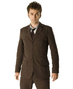10th Doctor Who Brown Suit