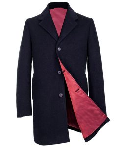 12 Doctor Who Peter Capaldi Blue Coat