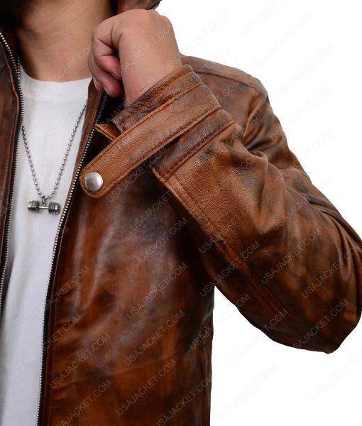 Agents Of Shield Brett Dalton Brown Jacket