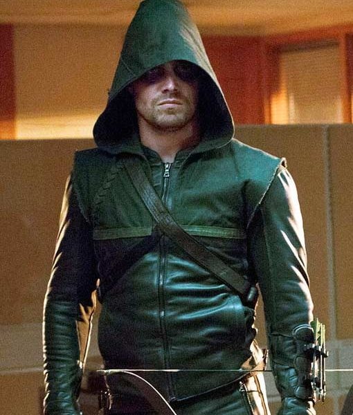Arrow Green Jacket