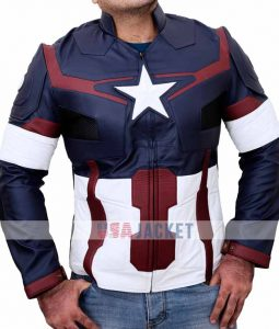 Captain America Age Of Ultron Costume Jacket