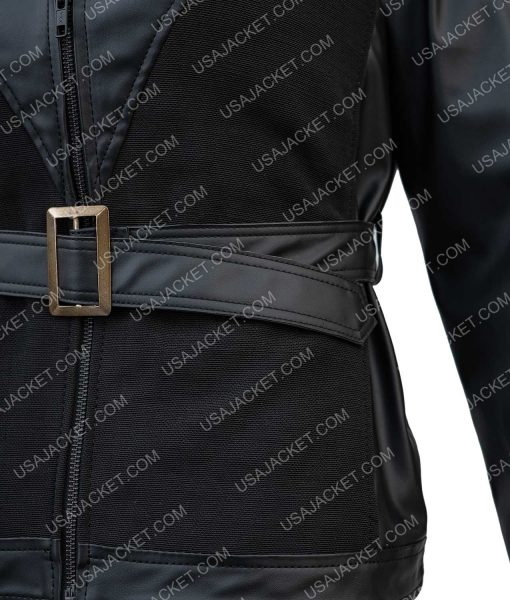 Avengers Age of Ultron Black Widow Belted Jacket