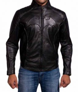 Batman Begins Leather Costume Jacket