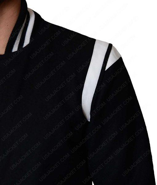 Black And White Varsity Jacket