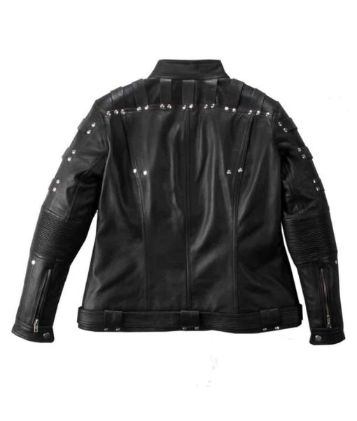 arrow S04 katie Cassidy jacket