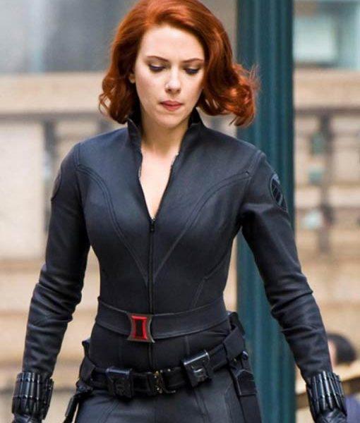 Age Of Ultron Scarlett Johansson Jacket