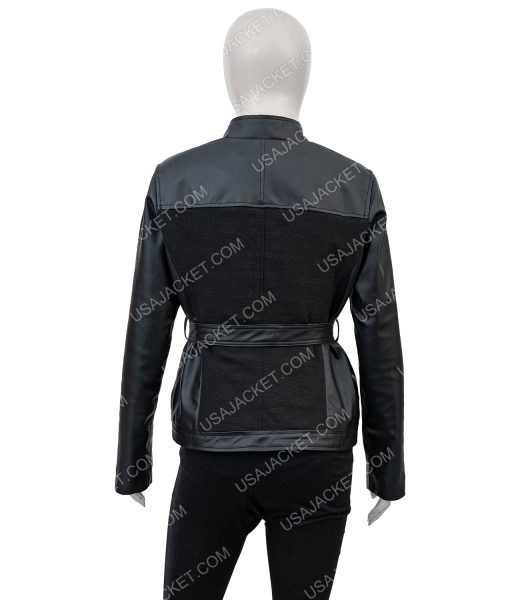 Avengers Age of Ultron Black Widow Leather Jacket