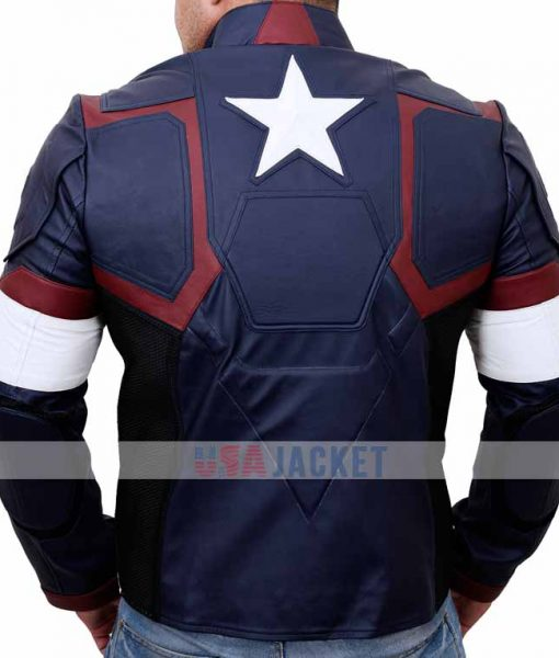 Age Of Ultron Leather Jacket