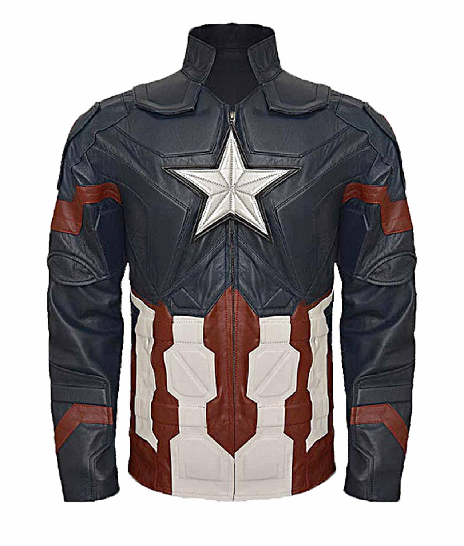 47da851ed2159 Captain America Civil War Steve Rogers Jacket. Chris Evans ...