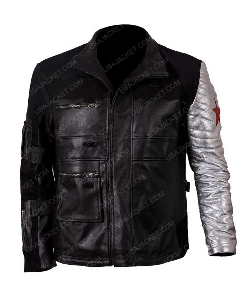 Captain America Civil War Winter Soldier Jacket