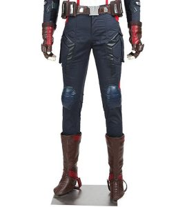 Captain America Age Of Ultron Costume Leather Pant