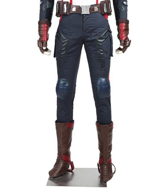 Captain America Leather Pant