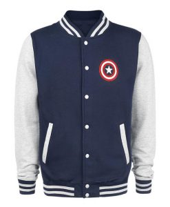 Captain America Shield Letterman Jacket