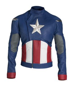 The First Avenger Captain America Costume Jacket