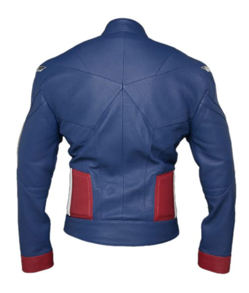 Captain America Avenger Leather Jacket