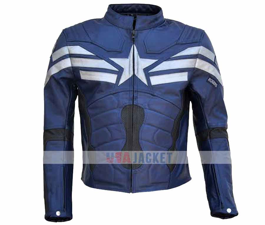 steve rogers captain america the winter soldier jacket