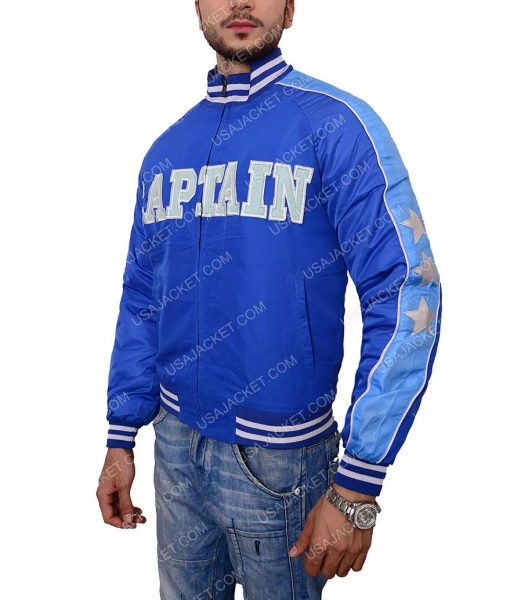 Captain Boomerang Suicide Squad Blue Bomber Jacket