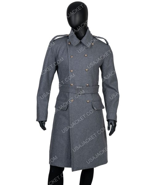 Captain Jack Harkness Grey Trench Coat