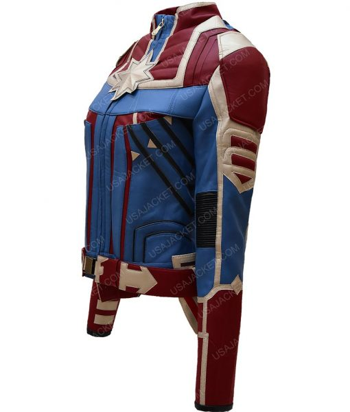 Captain Marvel Carol Danvers Costume Jacket