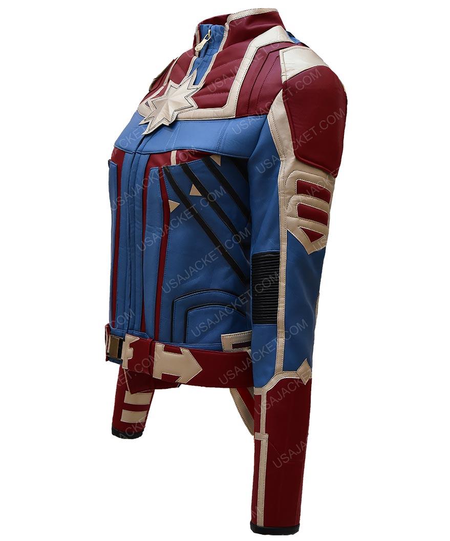 Captain Marvel Jacket Carol Danvers Usa Jacket Captain marvel costume, cosplay costume #captainmarvel #cosplaycostume #costume. carol danvers captain marvel jacket