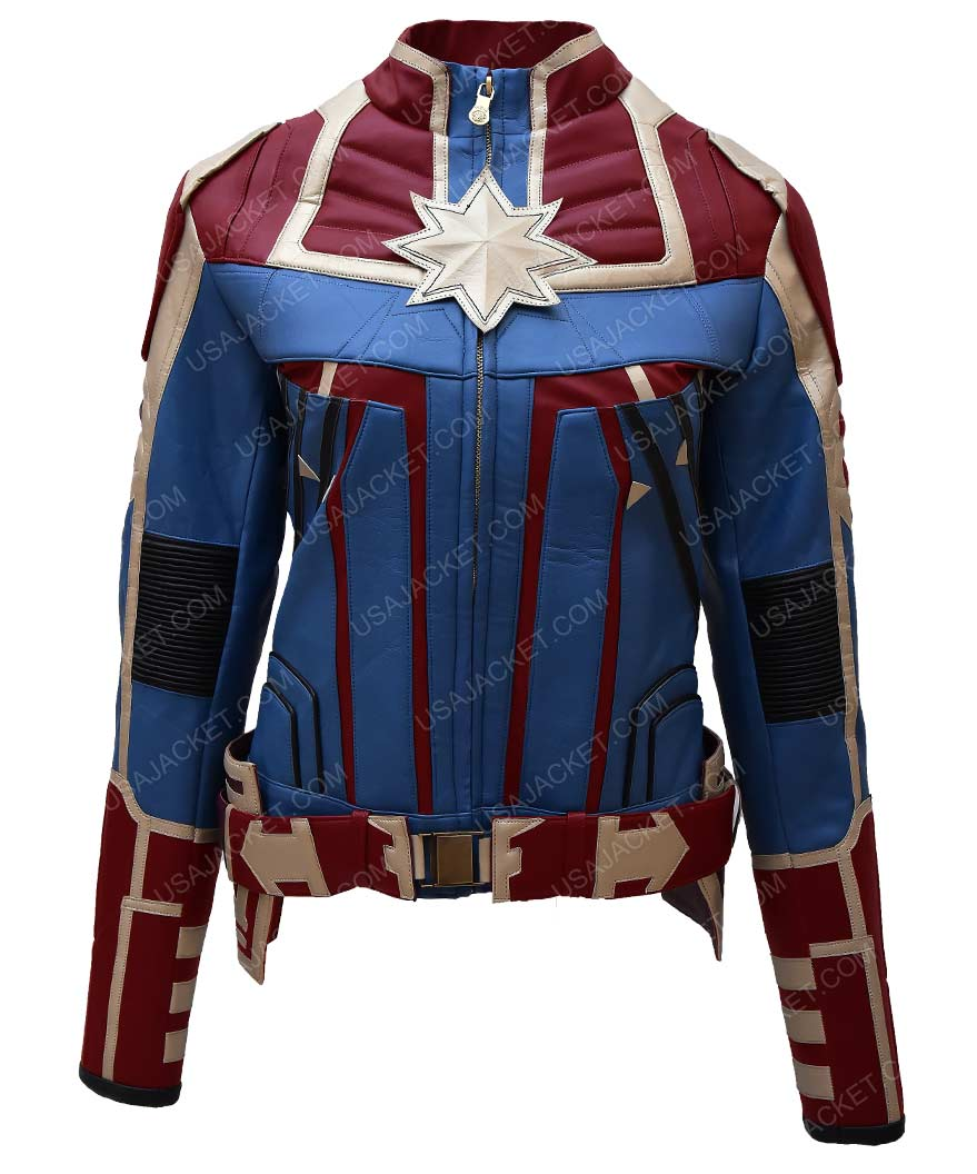 carol danvers captain marvel jacket (free t- shirt)