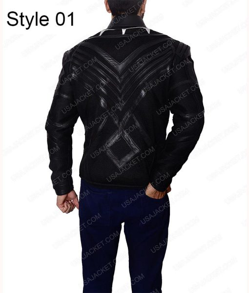Black Panther T'Challa Leather Jacket