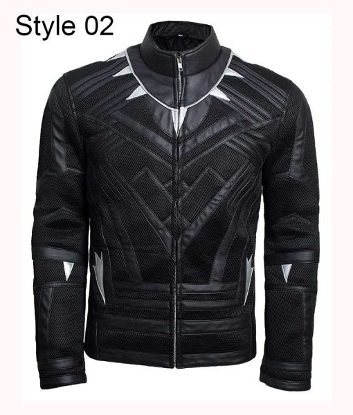 Chadwick Boseman Black Panther Jacket