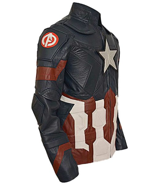 Captian America Civil War Leather Jacket