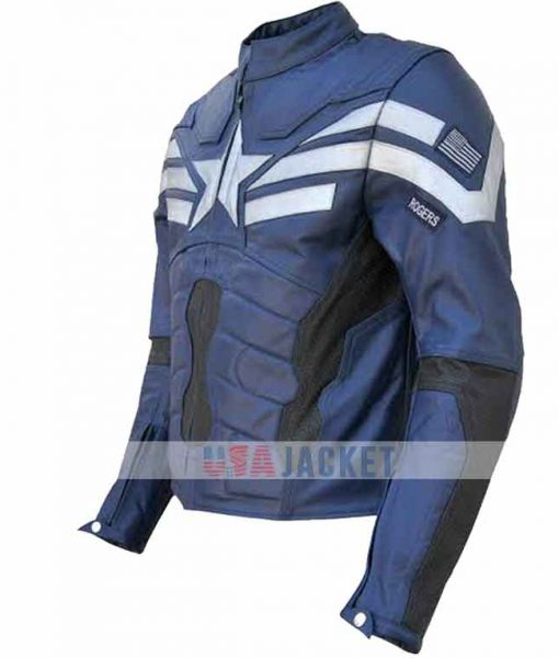 Captain America The Winter Soldier Leather Jacket