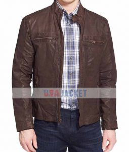 Captain America Civil War Brown Jacket