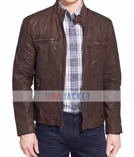 Chris Evans Civil War Brown Jacket
