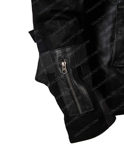 Winter Soldier Civil War Leather Jacket
