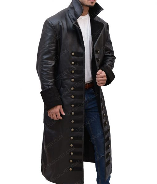 Captain Hook Once Upon A Time Colin O'Donoghue Leather Coat
