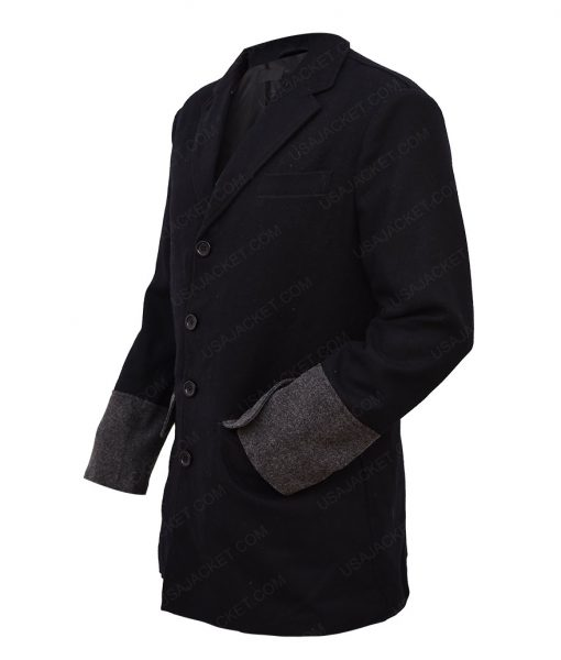 Cullen Bohannon Black Tench Coat