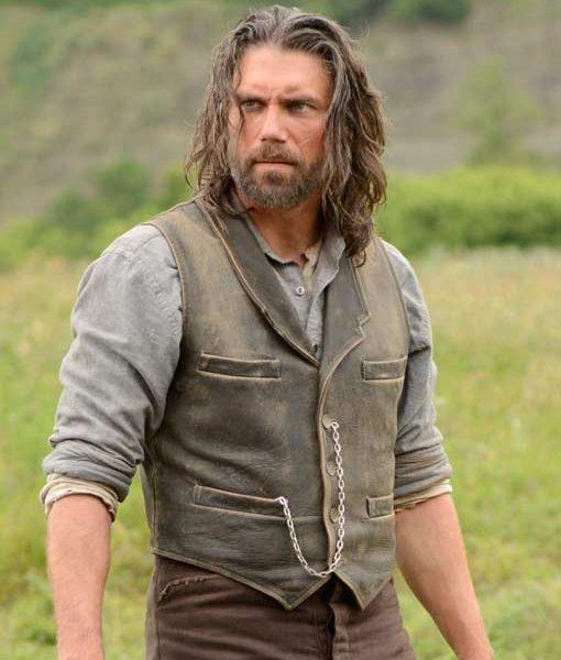 Cullen Bohannon Leather Vest