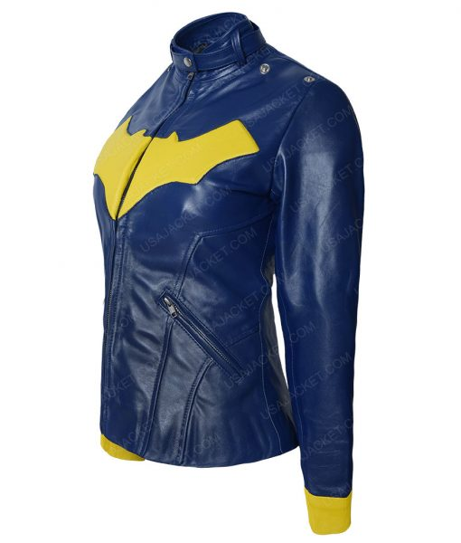 BatGirl Café Racer Leather Jacket
