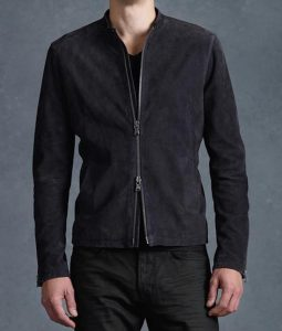 Spectre Black Suede Jacket