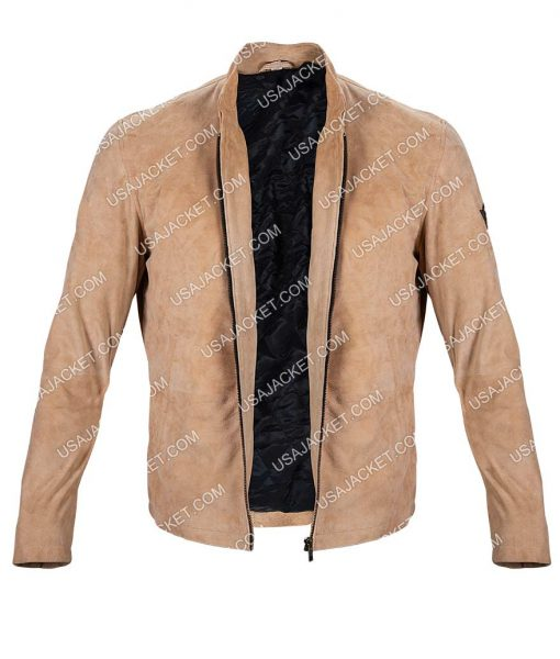 Daniel Craig Spectre Suede Leather Jacket
