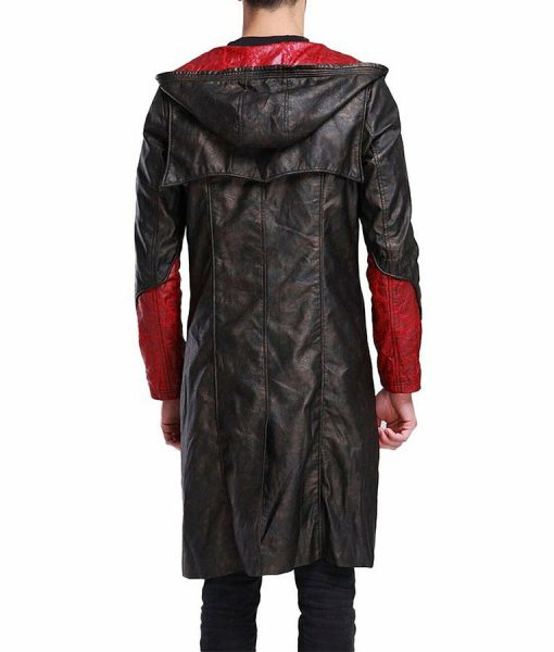 DMC Dante leather Coat